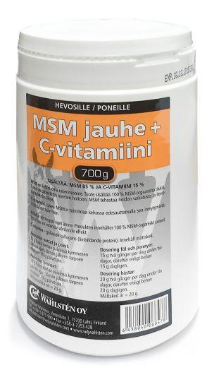 """Wahlsten имбирь, витамин """"С"""" и МСМ. Для дыхания, мышц, копыт и сухожилий. Снимает воспаление. 700 гр"""
