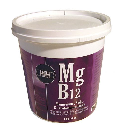 Black Horse MG B12. Магний и витамины группы В. 700 гр и 4 кг